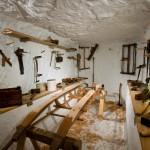 Amundsen's underground workrooms