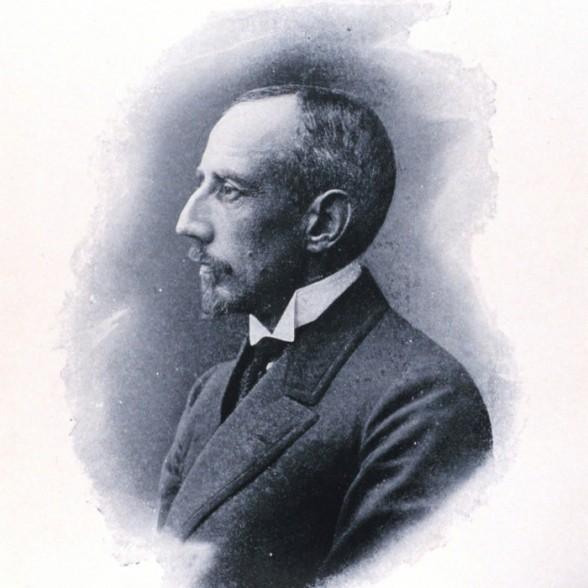 Roald Amundsen portrait